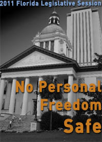 What is the state of civil liberties in Florida following the brutal 2011 Legislative Session?
